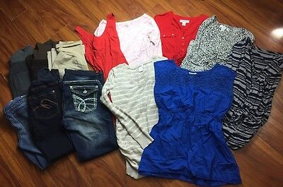 LOT OF 13 Pieces Motherhood Maternity Gap Women's Assort Clothes Sizes PS- Med