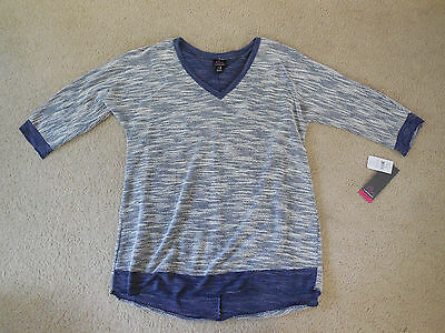 NWT! Maternity Oh Baby By Motherhood Light Weight Sweater XLarge V-Neck FRSHIP!