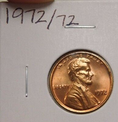 1972 Double Die Lincoln Cent