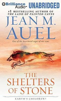 THE SHELTERS OF STONE unabridged audio book on CD by JEAN M. AUEL (34 Hours)
