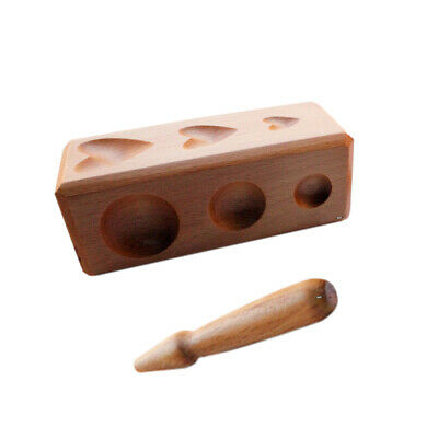 Wood Mix Shaping Block Dapping Jewelry Metal Forming & Shaping Tool