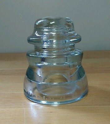 Vintage Armstrong Railroad Insulator 63 61- Made in U.S.A - Great Shape!