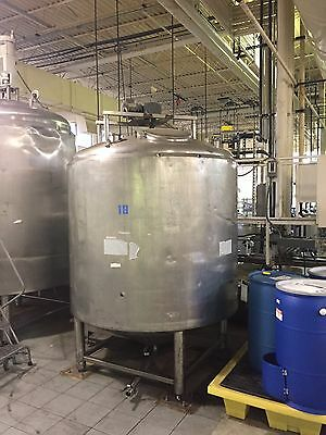 Stainless Steel Tank with Emerson Motor
