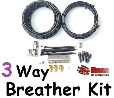 BOSS Diff & Trans Breather Kit Toyota Landcruiser 76 78 79 series all V8 Diesel