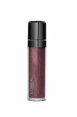 L'oreal Infallible Lip Gloss, 208 Flash Dance, Purple Glitter Shade, Mega Gloss