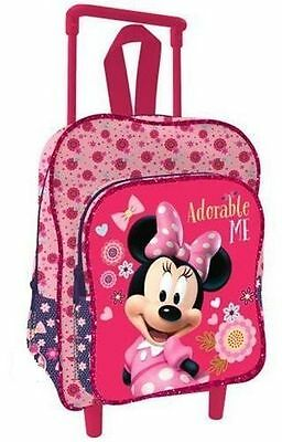 Trolley Zaino Zainetto Asilo Minnie Rosa  069701459
