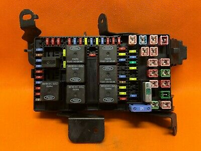 04 Ford F250 F350 Super Duty Interior Under Dash Fuse Relay Box 3C3T-14A067-Ed
