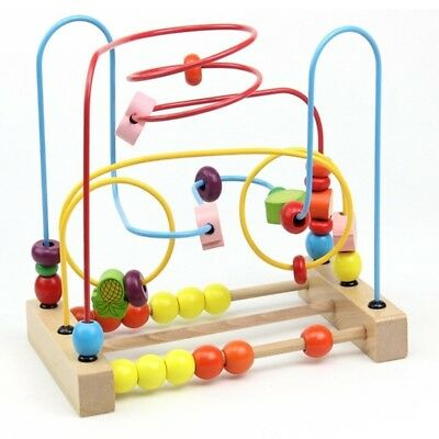 Bead Maze Wooden Toys for Kids. Playliking. Free Delivery