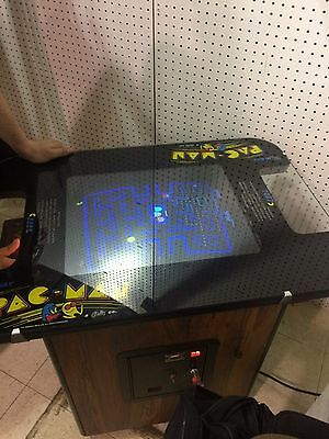 Pac-Man. Original 1980 Midway Cocktail Style Sit Down Arcade Game Good Condition