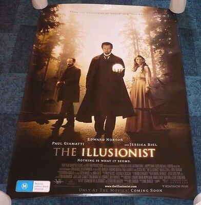 3 Pack Of movie posters:Beowulf, Cloverfield & The Illusionist