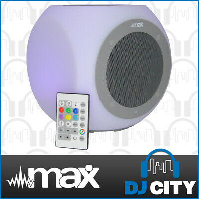 Rechargeable Outdoor Bluetooth Party Speaker w/ LEDs + IR Remote +Control App