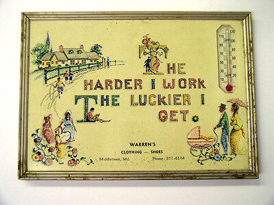 Warren`s Clothing - Shoes Middletown Md Thermometer - Frederick County Maryland