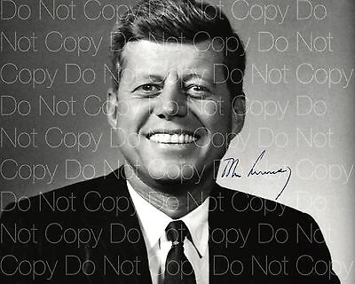 John F Kennedy signed 8X10 photo picture poster autograph RP