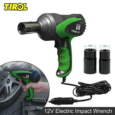"1/2"" 12V Electric Impact Wrench Tire Installation Wrench -3/4"" & 7/8"" kit Z9W6"