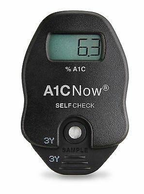 A1CNow SELF CHECK HbA1c At Home A1C System - Includes 2 Tests