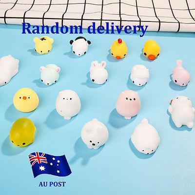 Cute Mini Squishy Animals Anti Stress Reliever Mood Vent Squeeze Toy Popular BO