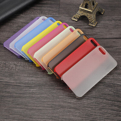 For Apple iPhone 5 6 7 plus Ultra Thin 0.3mm Transparent Slim Case Cover RL7