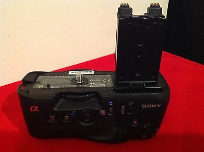 Sony genuine VG-C77AM Vertical Battery Grip for a77, a77 II, and a99 II.
