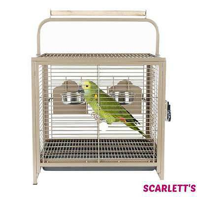 Rainforest Travellor Medium Bird Travel Cage With Bowls and Perch …