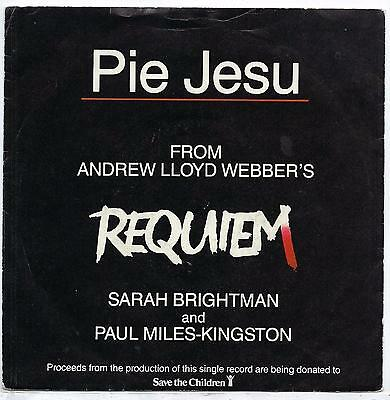 "Sarah Brightman - Pie Jesu - 7"" Single"
