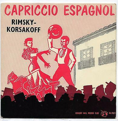"The Halle Orchestra - Capriccio Espagnol - 7"" Single"