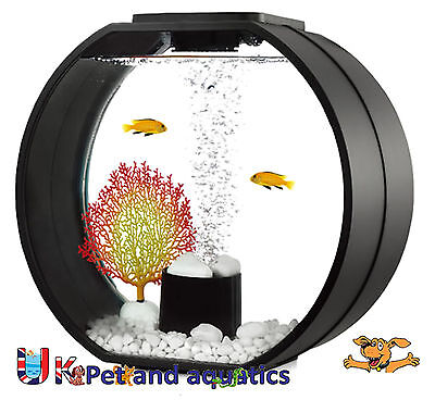 Fish R Fun, Deco Mini Fish Tank 10L Black