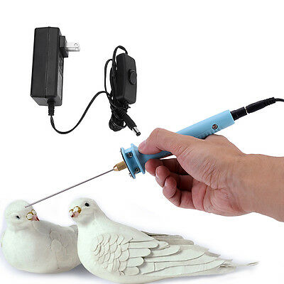 10CM Electric Cutter Pen Styro Foam Heat Hot Wire Craft Cutting w/Adaptor im