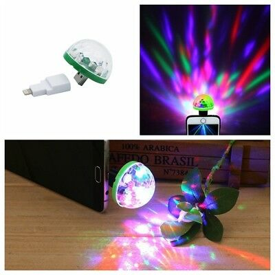 Mini Portable USB Stage Disco Light Magic Ball Lamp Party Club for Mobile Phone