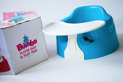 Bumbo Floor Seat and Play Tray Combo - Suitable for babies aged 3 - 12 months