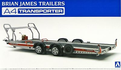 Aoshima 1/24 Special Model Tuned Parts Kit Brian James Trailers A4 Transporter