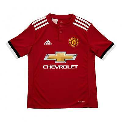 a8a9c09af Adidas Performance Juniors Manchester United 2017 2018 Home Shirt (Red)