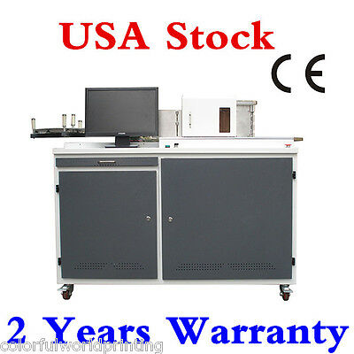 USA Stock! Automatic Fabrication Aluminum Channel Letter Bending Machine Bender
