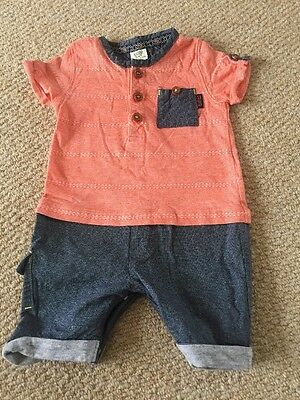 Ted Baker Baby Boy Romper Age 0-3 Months