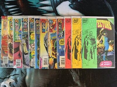 Malibu Comics The Protectors Lot Of 12 Books With Variants
