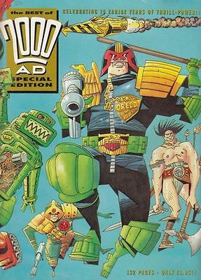 The Best Of 2000AD Special Edition - 1993 :