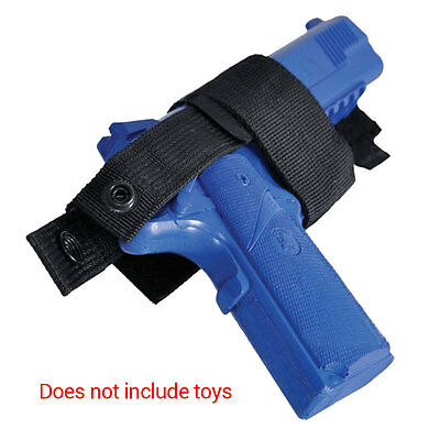 Portable Crossword Tactical Military Pistol Holster Pouch Bag W/Adhesive Strap