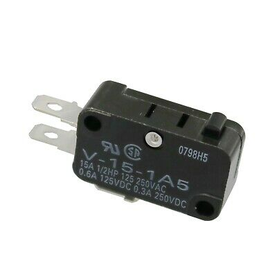 1Pcs New V-15-1A5 Limit Switch 3 Pins Microswitch Com-NC-NO