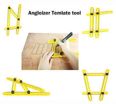 Angle-izer Multi-Angle Ruler 836 Template  Angleizer Tile & Floor Measuring Tool