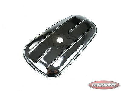 Gerätedeckel Puch MS MS50 Toolbox cover Mofa Moped 4.5 / 3 Liter Chrom