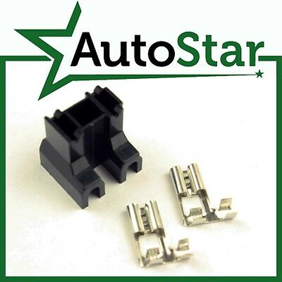 H7 2 Pin Headlight Replacement Bulb Holder Connector & Loose Terminals & Socket