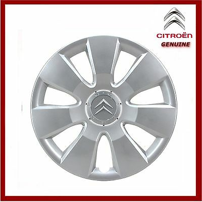 "Genuine Citroen C8 & Dispatch Wheel Trim / Cover 16"" Inch (Narcisse Style) New!"