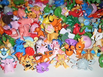Pokemon Pocket Monster 2-3cm Miniature Mini Action Figures Toys - 24 Pcs SEALED