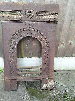 Vintage Reclaimed Cast Iron Fire Insert