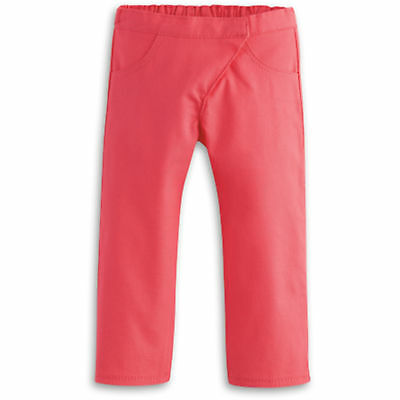 """American Girl TRULY ME CORAL SKINNY PANTS for 18"""" Dolls Clothes NEW"""