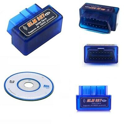 Mini Elm327 Obd 2.1 Per Diagnosi Auto Interfaccia Bluetooth Android