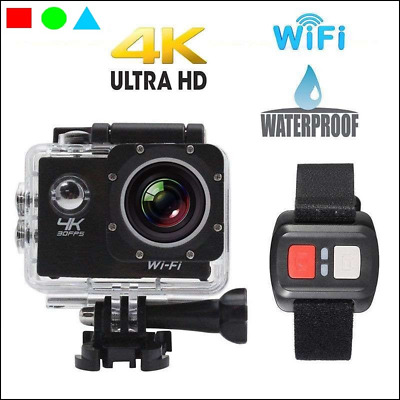 f* PRO CAM SPORT ACTION CAMERA 4K WIFI ULTRA HD 16MP VIDEOCAMERA CON TELECOMANDO