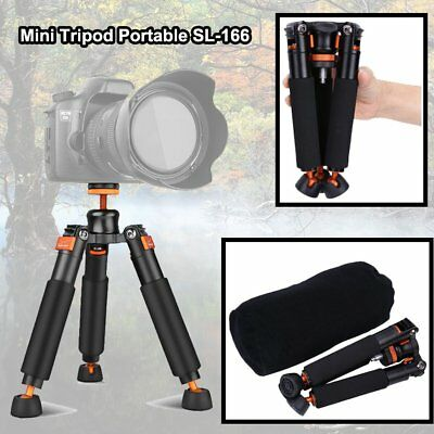 3 Legs Stand Support Base Desktop Tripod For Digital Camera Monopod DSLR SL-166