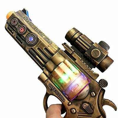 Steam Punk Toy Gun Pistol Theater Costume Cosplay Role Play Accessory New