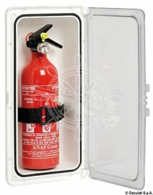 Fire Extinguisher Compartment with door 140x231mm Osculati