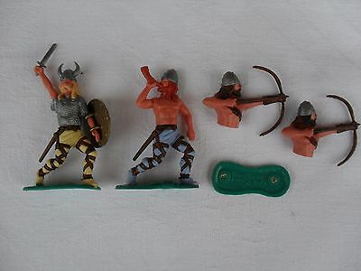 Vintage TIMPO Toys Viking - 1974 Plastic Toy Soldier